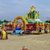 Анапа Центральный пляж аттракционы для детей