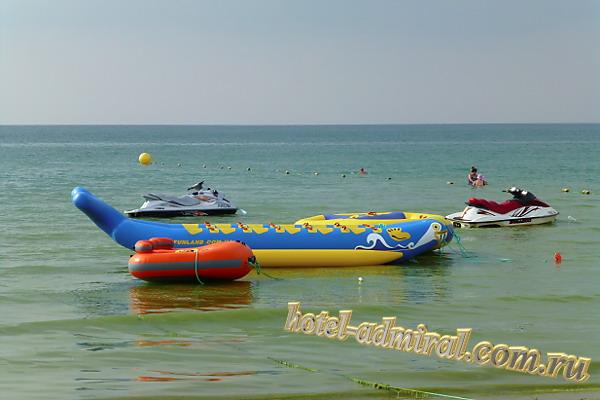 Анапа Центральный пляж банан и таблетка