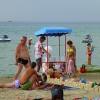Анапа Центральный пляж сладкая вата