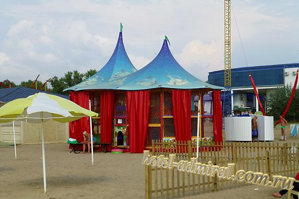 Анапа Центральный пляж развлечения для детей