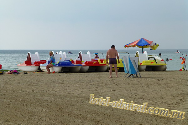 Анапа Центральный пляж прокат катамаранов