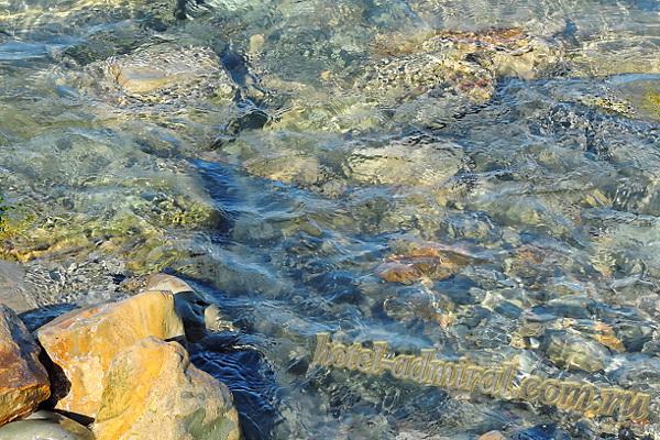 Анапа Высокий берег у спуска с ул. Трудящихся вода в море